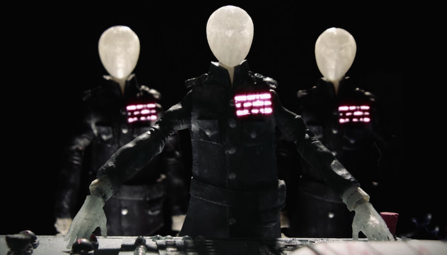 At The Drive-In release stop-motion animated video for new single 'Hostage Stamps'