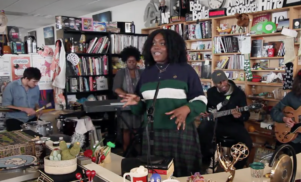 Noname brings her band along for new NPR Tiny Desk Concert