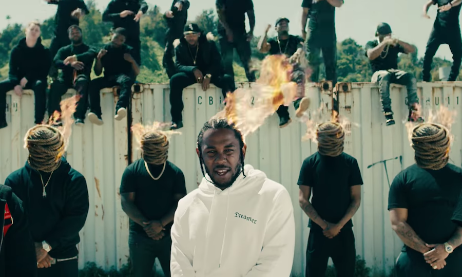 Here's everything you want to know about Kendrick Lamar's 'HUMBLE.' video from the man who shot it