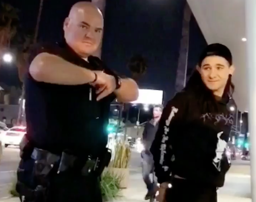 Skrillex detained by police because his music was too loud