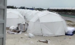 """$12,000 luxury island festival descends into chaos after fans complain of """"refugee camp"""" conditions"""