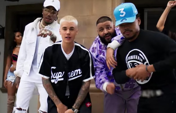 Watch DJ Khaled's 'I'm The One' video featuring Justin