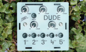 Bastl Instruments' Dude is a tiny mixer for your pocket synths