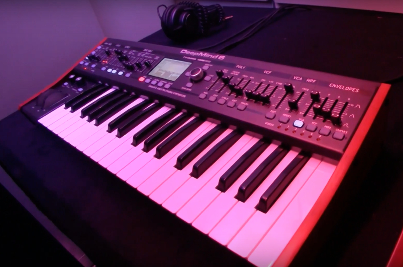Behringer reveals affordable six-voice analog synth, DeepMind 6