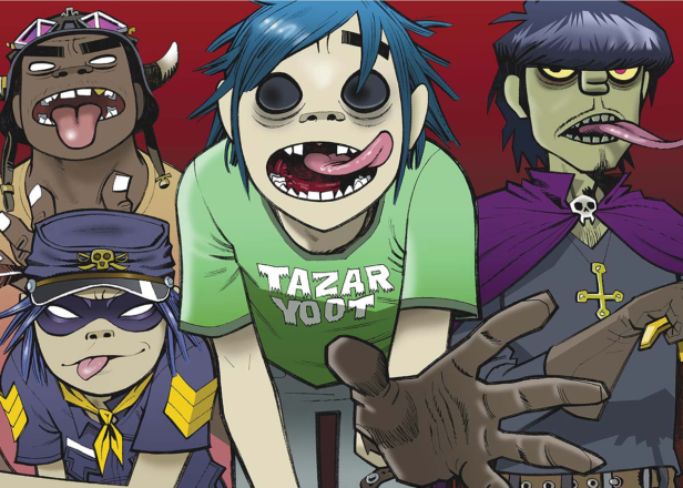 Gorillaz announce UK and Europe arena tour