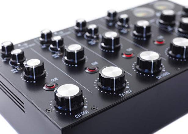 MasterSounds' new Radius 4 rotary mixer is a hand-built marvel
