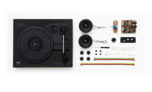 This kit lets you build your own turntable in just 18 minutes