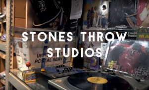 Step into Stones Throw Studios with this film on the illustrious LA label