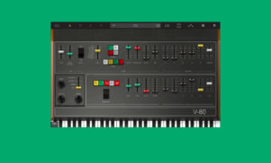 This virtual synth contains the sound of 38 classic instruments