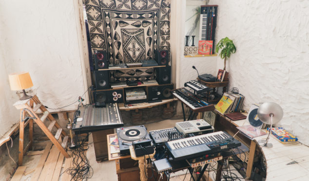 Step inside Awanto 3's mesmerizing home studio on the outskirts of Amsterdam