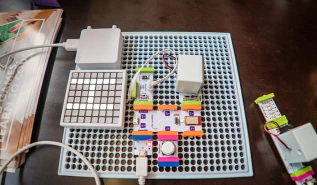 littleBits shows off its new Code Kit at Sónar 2017
