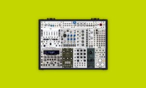 This is the modular synth Aphex Twin is using in his DJ sets