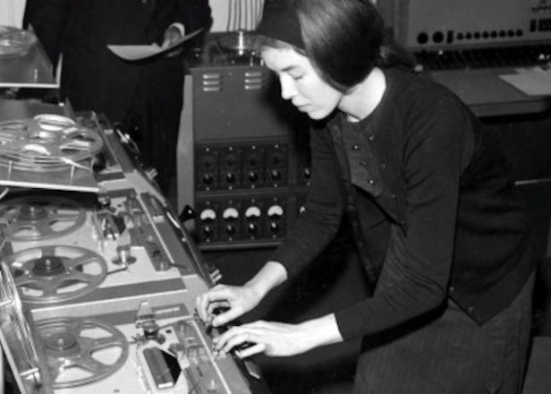 Stream never before heard Delia Derbyshire music on Reform Radio's tribute episode