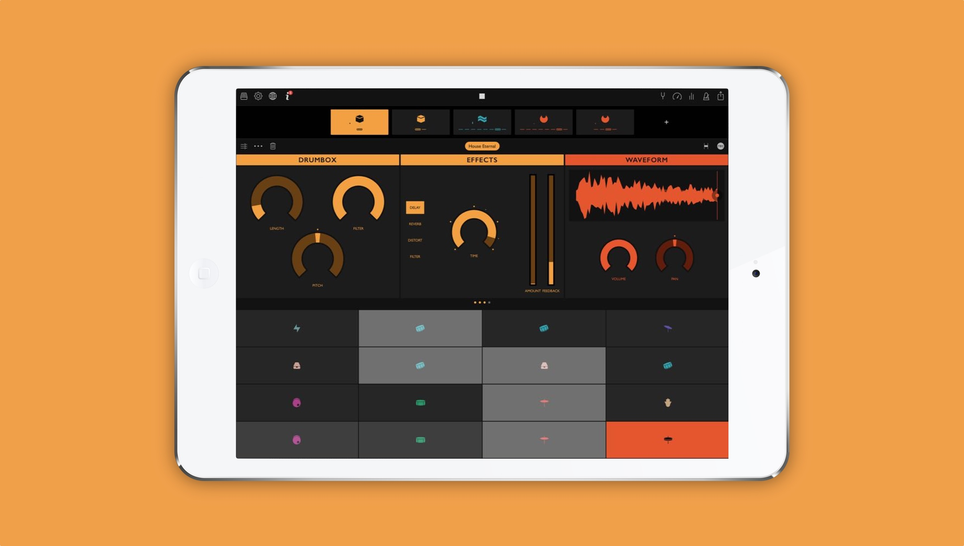 d4938a31494 Ampify Groovebox review  An impressive free beat-making app for iOS