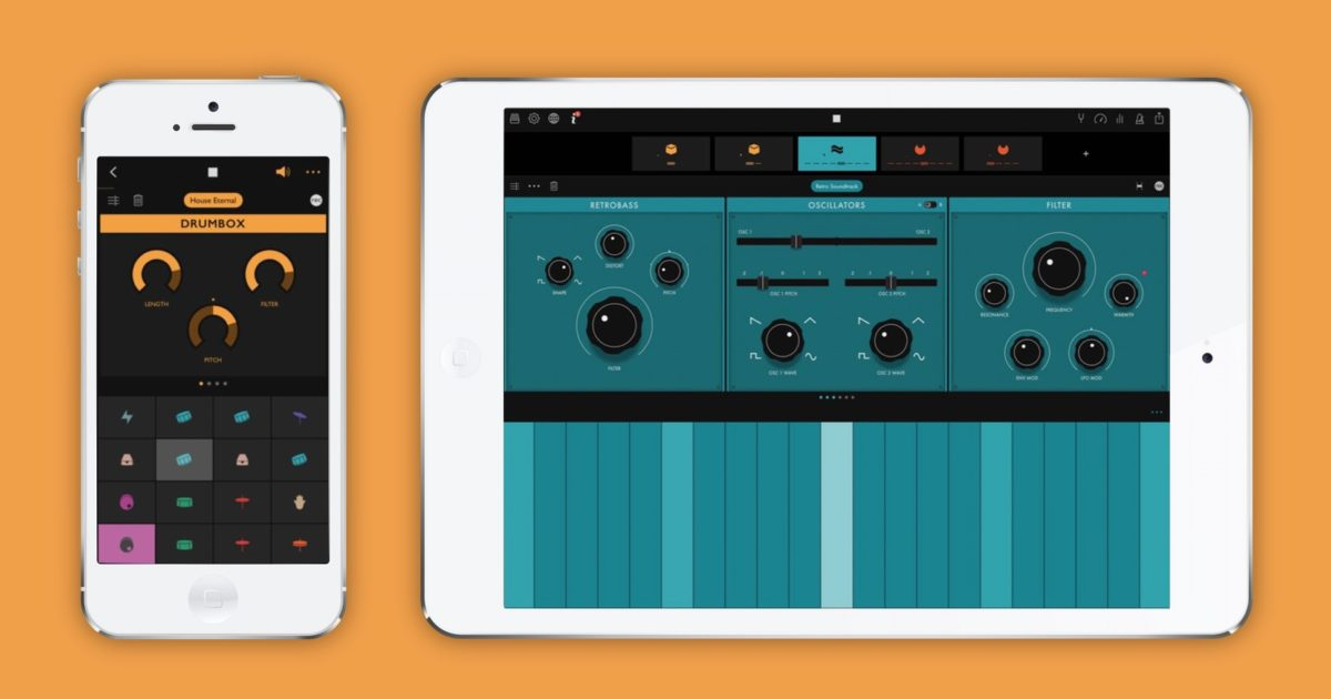 ampify groovebox review an impressive free beat making app for ios. Black Bedroom Furniture Sets. Home Design Ideas