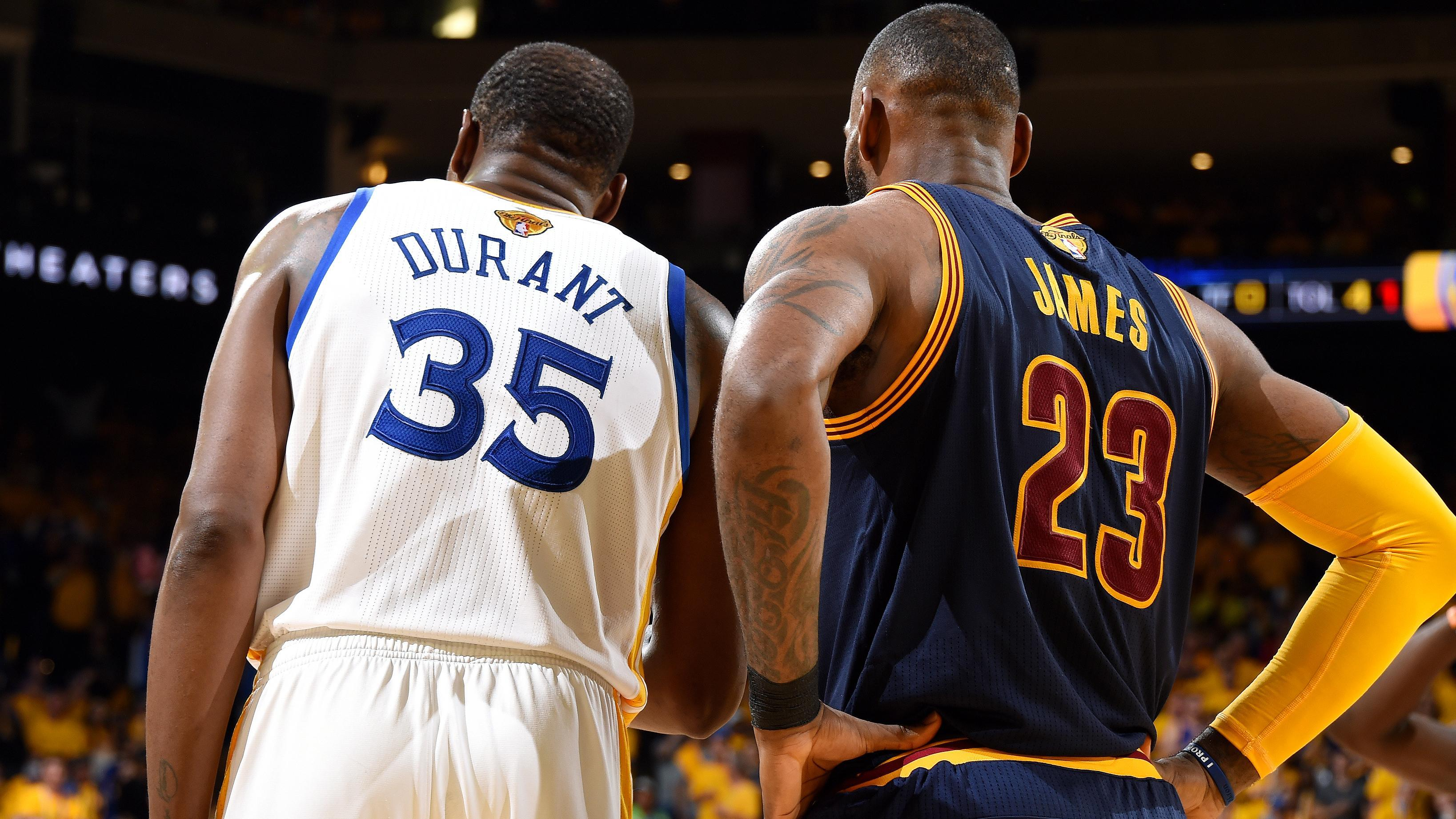 adbfa322e23a Kevin Durant and LeBron James recorded a rap track together