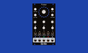 Qu-Bit's Pulsar is a burst generator module inspired by outer space