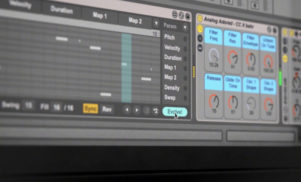 Coldcut design MIDI pattern generator for Ableton Live, MidiVolve