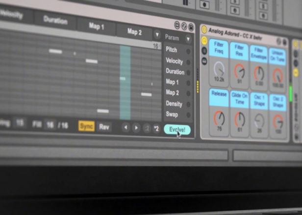 Coldcut design MIDI pattern generator for Ableton Live