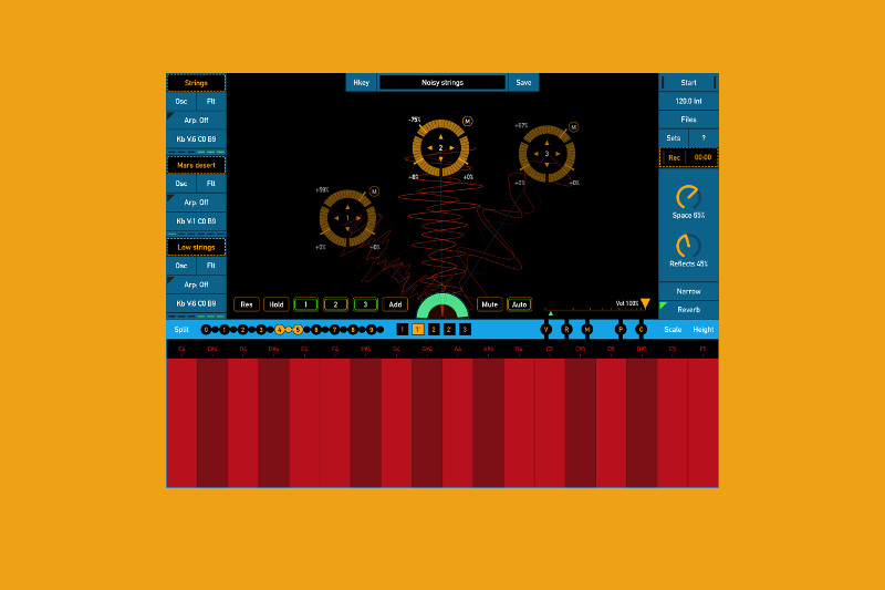 SoundScaper is an iOS app for making ambient synthscapes