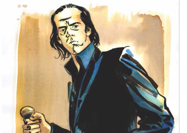 Nick Cave subject of graphic novel biography
