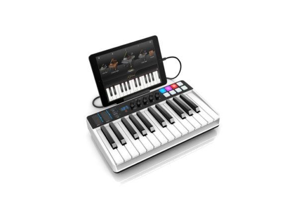 iRig Keys I/O is an audio interface and MIDI keyboard