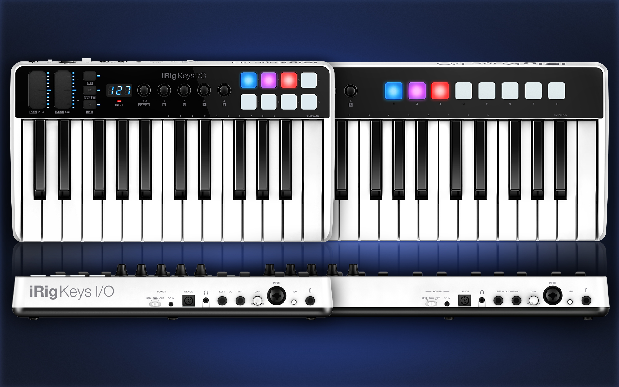 irig keys i o is an audio interface and midi keyboard controller for 199. Black Bedroom Furniture Sets. Home Design Ideas