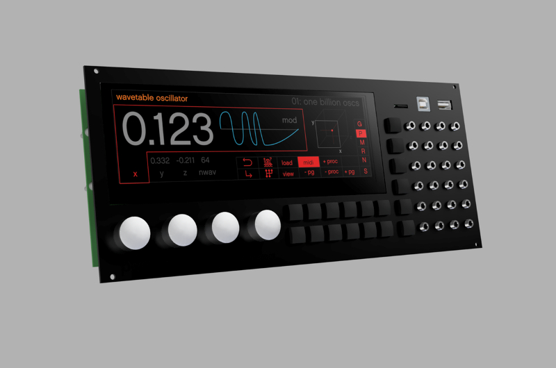 Percussa's SSP has the power of 10 digital Eurorack modules