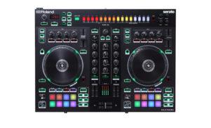 Roland and Serato unveil new hybrid drum machine DJ controllers