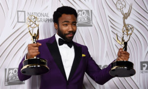 Donald Glover wins at Emmys, provides update on Chance The Rapper mixtape