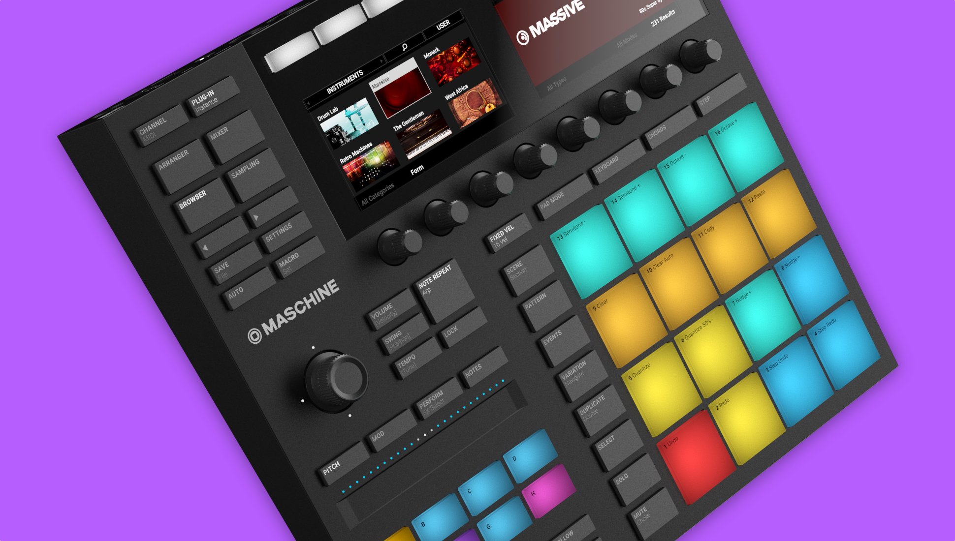 Maschine MK3 review: Less of a MIDI controller, more of an