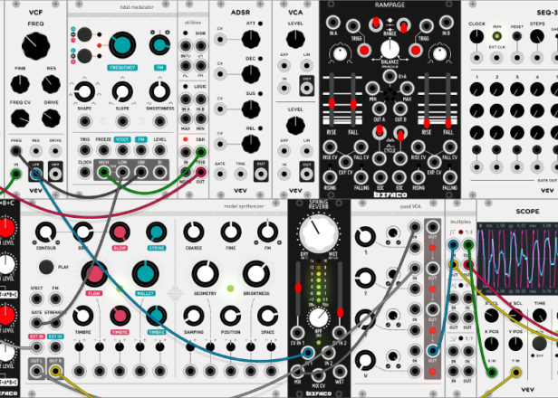 vcv rack is a free open source virtual eurorack modular synth. Black Bedroom Furniture Sets. Home Design Ideas