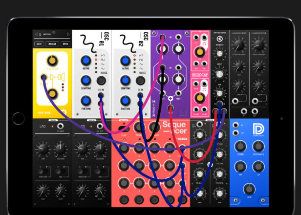 s modular is a simple new semi modular synth app for ipad. Black Bedroom Furniture Sets. Home Design Ideas