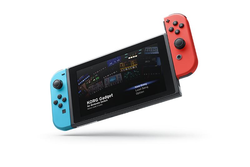 Korg Gadget Nintendo Switch