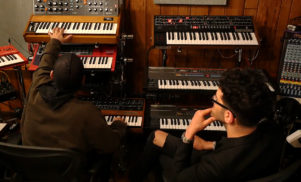 Chromeo's Californian studio is a synth wonderland