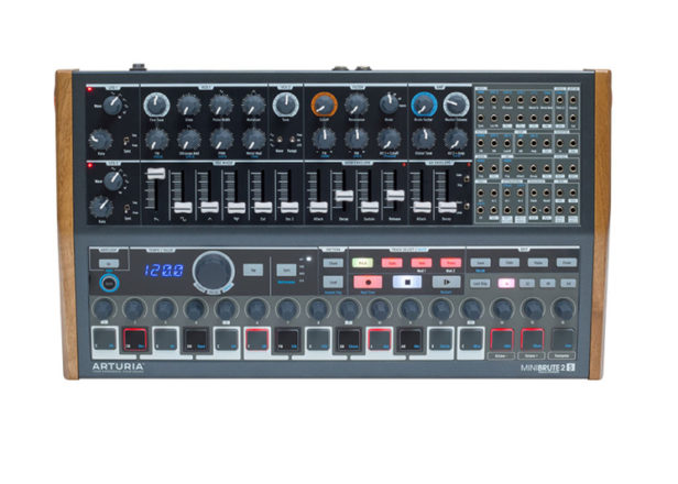 Arturia's MiniBrute 2S synth replaces keys with pads and a sequencer
