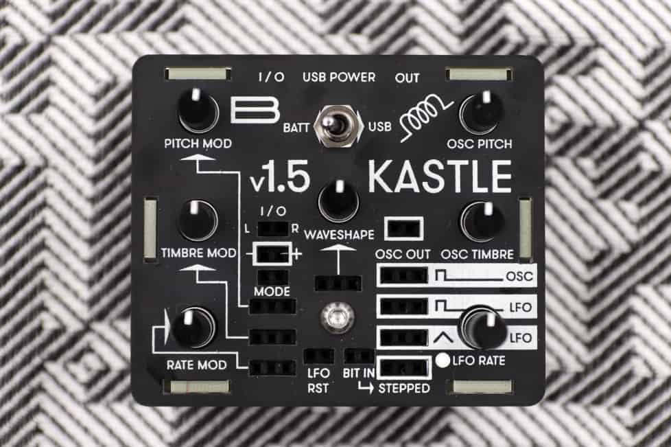 Bastl's Kastle mini modular synth gets new look and sound engine