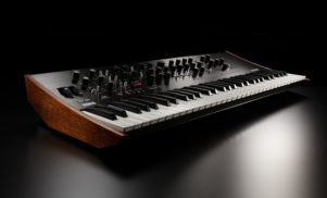 Korg's Prologue is a high-end polyphonic analog synth that lets you create your own oscillators and effects