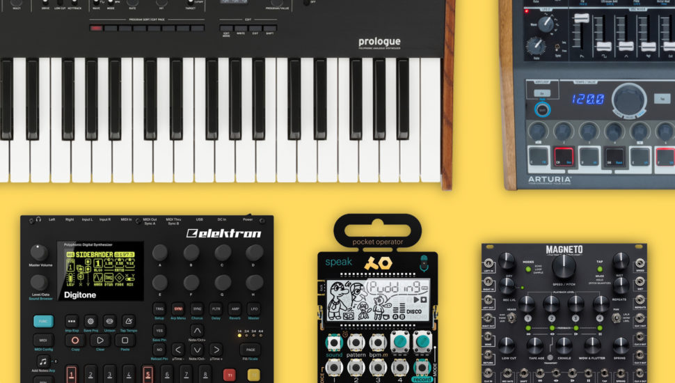 Synths, drum machines, modules: Music gear we're excited for