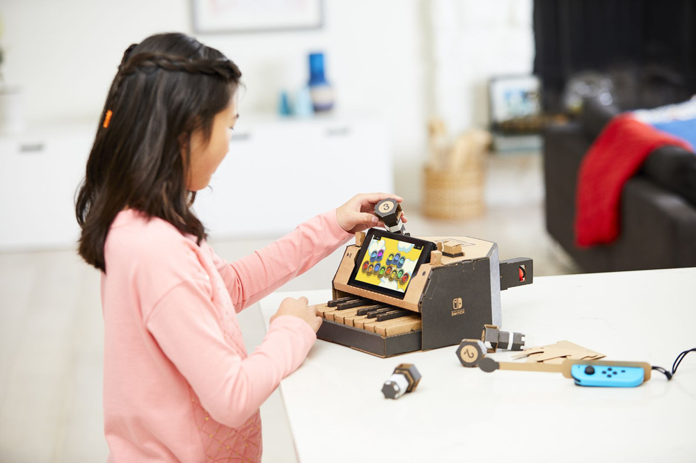 Nintendo's cardboard piano for Switch is the most exciting gear announcement  2018