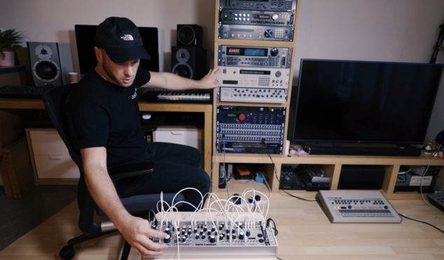 Mumdance demos his jungle-inspired Eurorack filter module, MUM M8