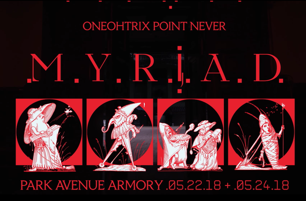 Oneohtrix Point Never releases new video 'MYRIAD'