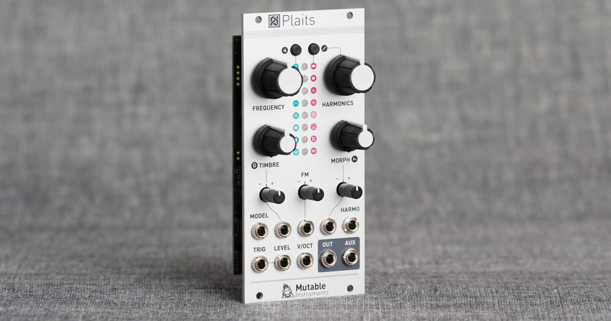 Mutable Instruments replaces Braids module with Plaits macro-oscillator