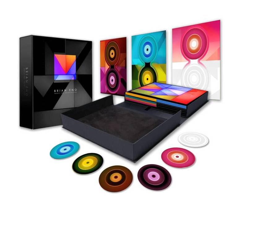 Brian Eno announces Music For Installations box set