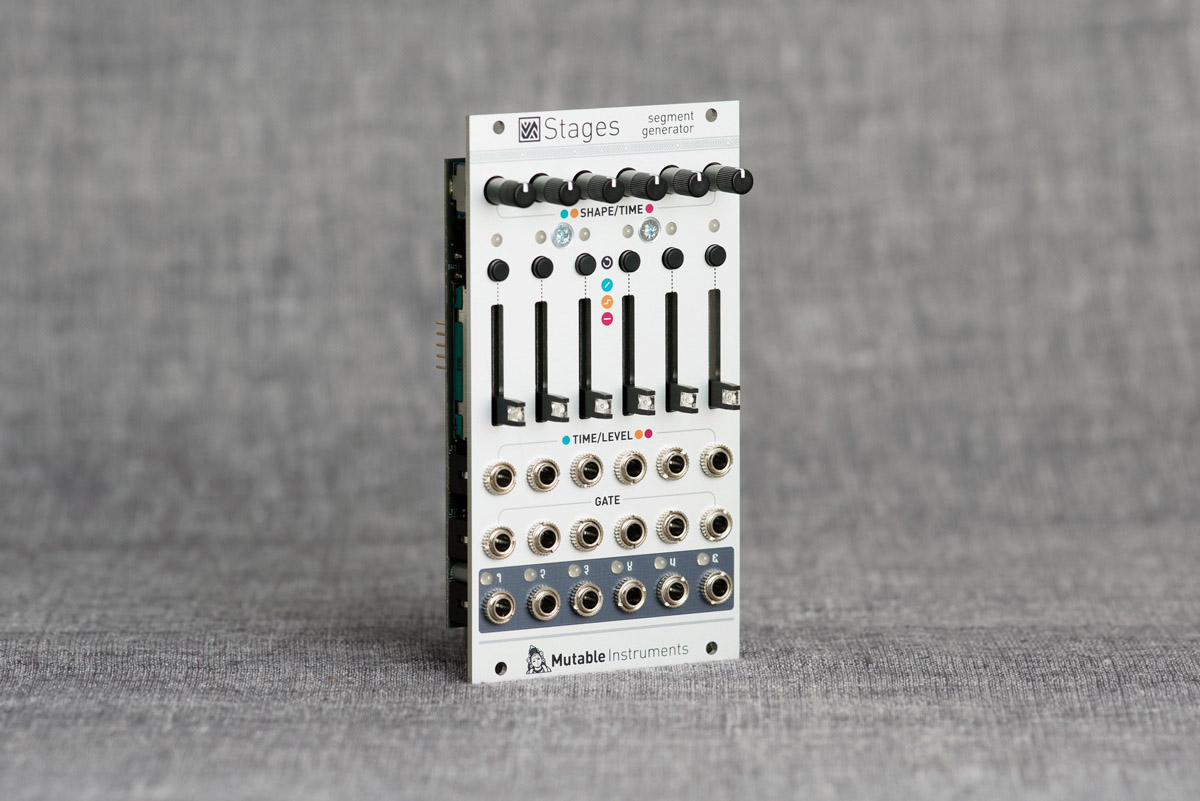 Mutable Instruments introduces Stages segment generator module