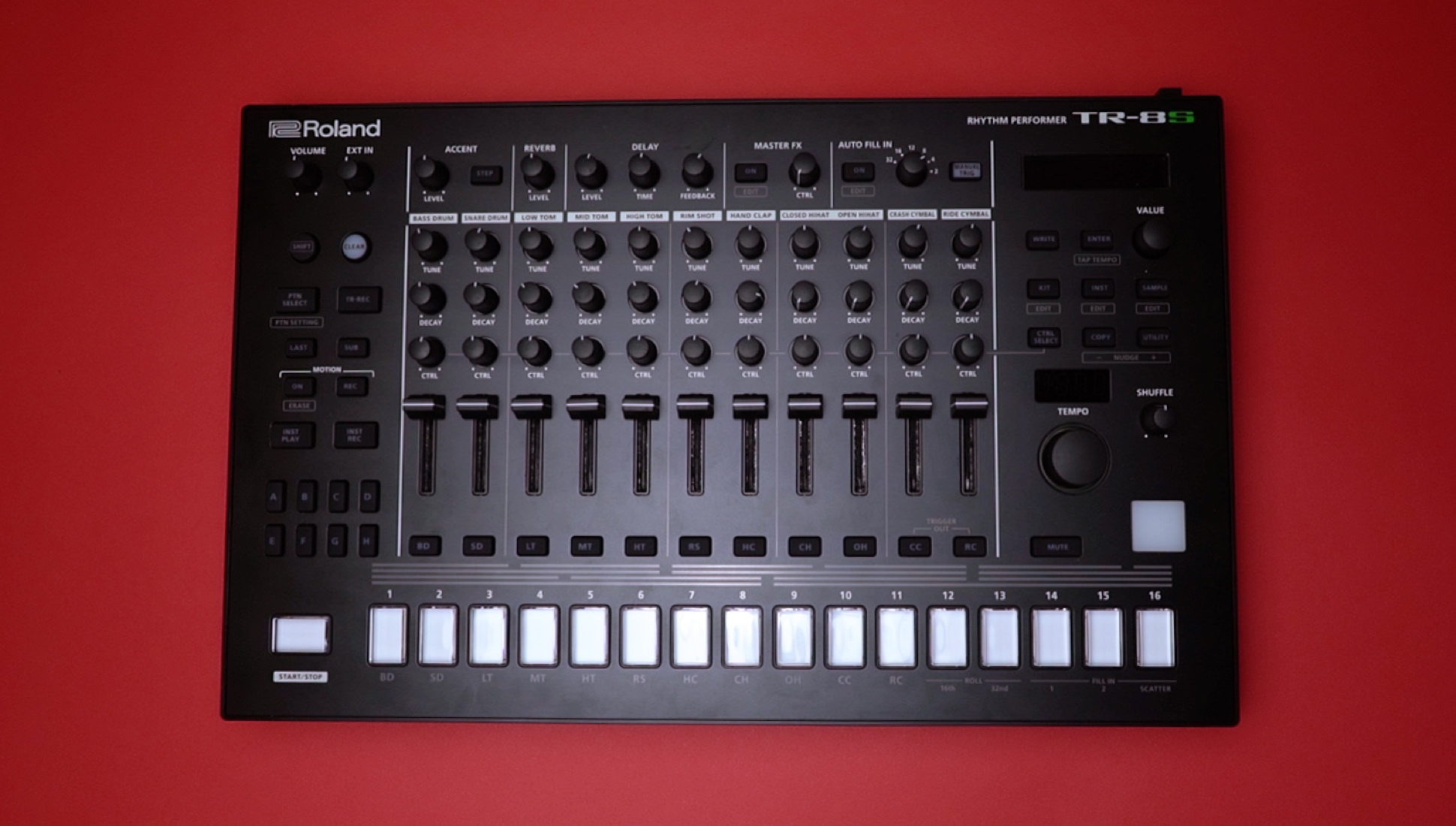 Roland tr-8s review: an 808, 909 and sample-playing drum machine.