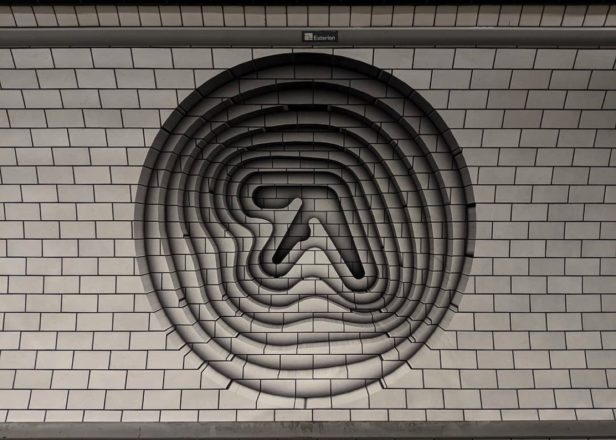 Aphex Twin artwork spotted in London sparks new album