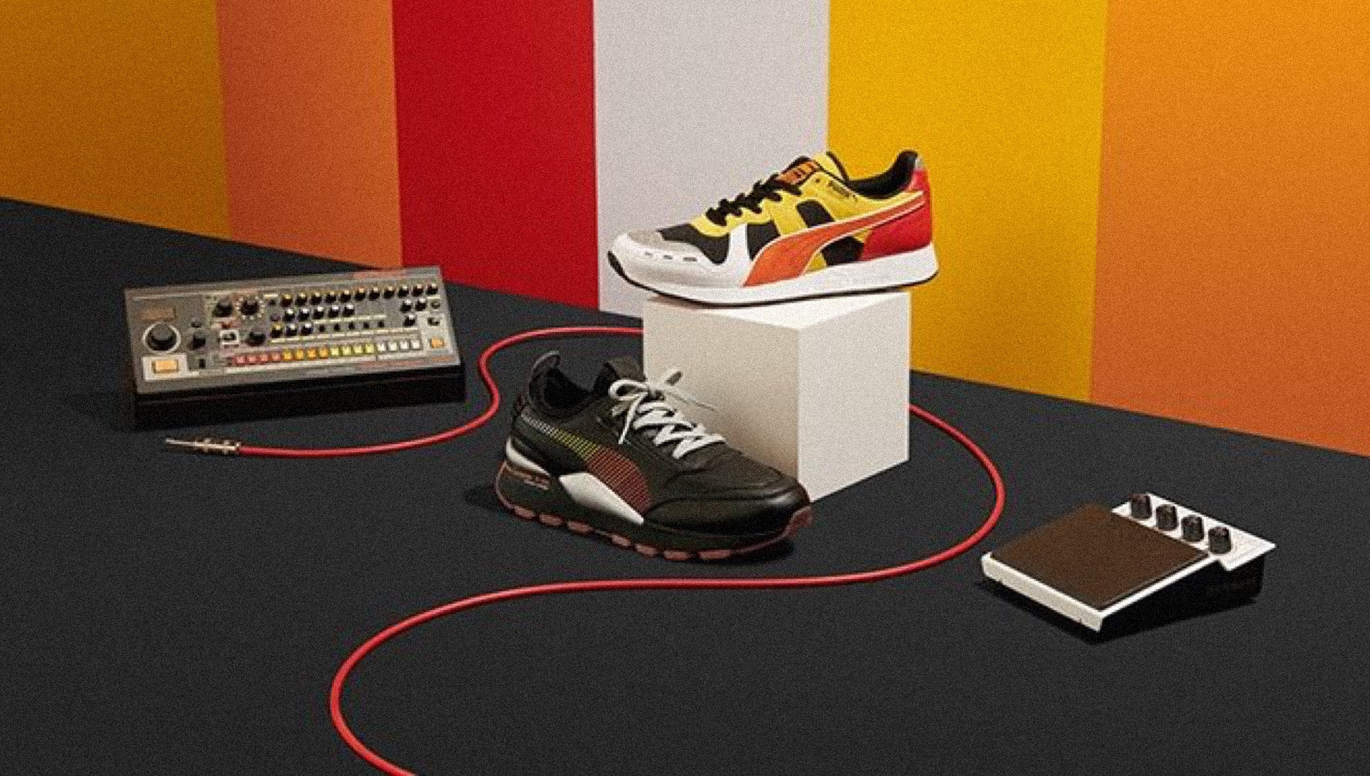 Roland and Puma reveal a new TR 808 inspired sneaker