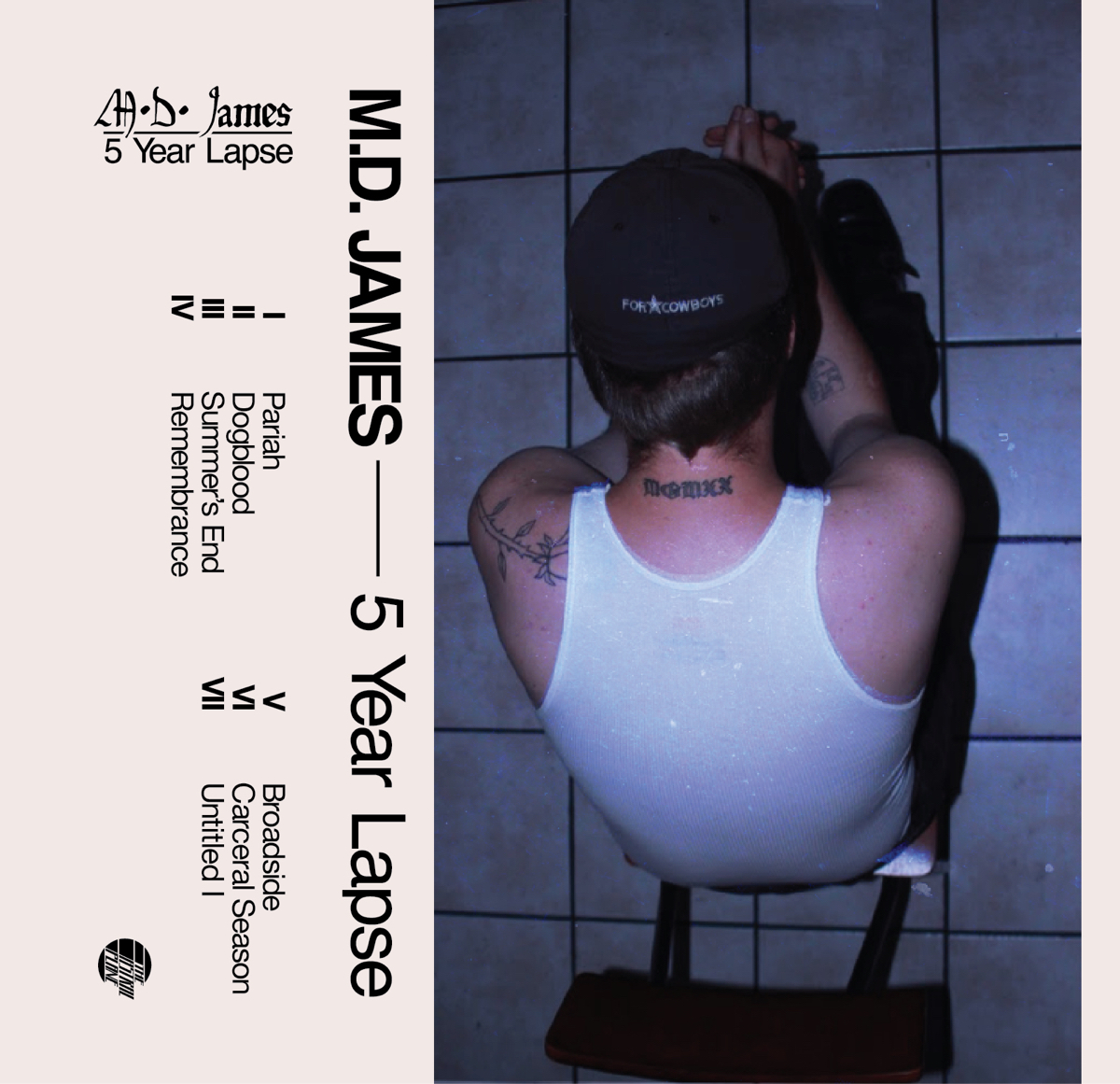 Los Angeles DIY mainstay M.D. James announces 5 Year Lapse EP on The Astral Plane