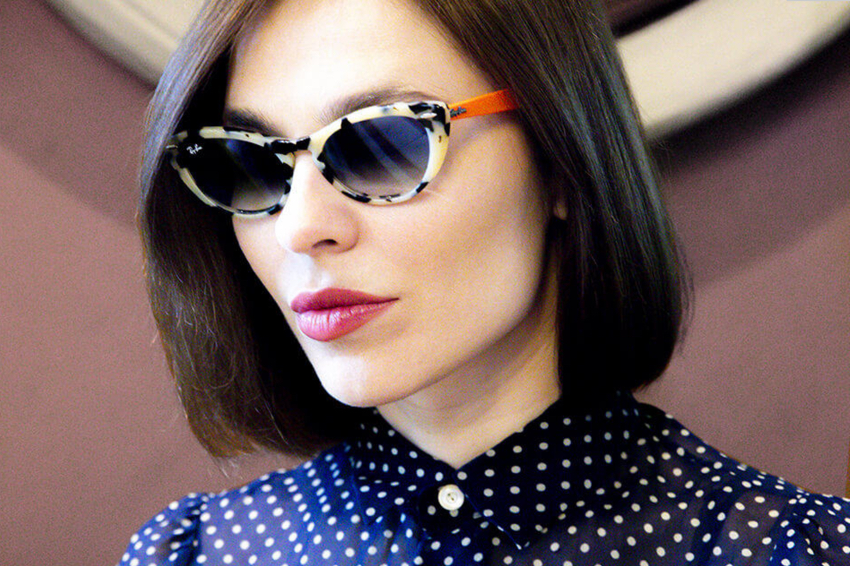 Nina Kraviz Designs Collection For Ray Ban